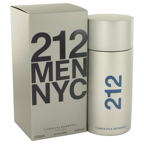 212 by Carolina Herrera Eau De Toilette Spray 6.8 oz - Fragrances for Men - 123fragrance.net