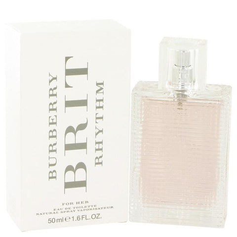 Burberry Brit Rhythm by Burberry Eau De Toilette Spray 1.7 oz - Miaimi perfume and cologne @ 123fragrance.net-Brand name fragrances, colognes, perfumes, shopping made easy - 2
