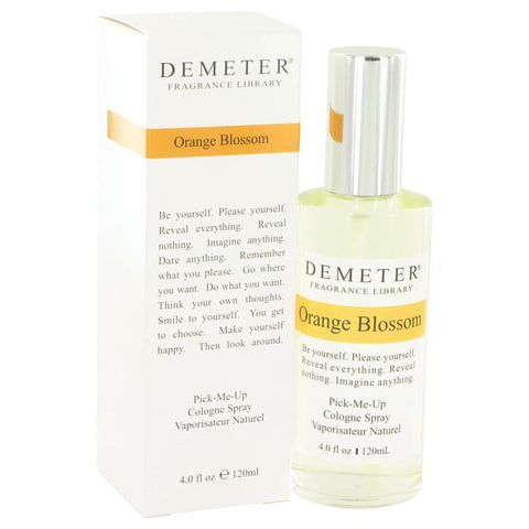 Demeter by Demeter Orange Blossom Cologne Spray 4 oz - Miaimi perfume and cologne @ 123fragrance.net-Brand name fragrances, colognes, perfumes, shopping made easy - 2