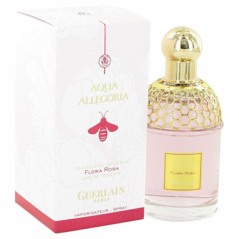 Aqua Allegoria Flora Rosa by Guerlain Eau De Toilette Spray 3.3 oz - Fragrances for Women - 123fragrance.net