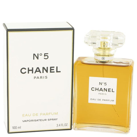 CHANEL # 5 by Chanel Eau De Parfum Spray 3.4 oz - Miaimi perfume and cologne @ 123fragrance.net-Brand name fragrances, colognes, perfumes, shopping made easy - 2