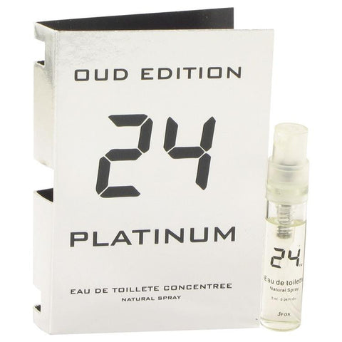24 Platinum Oud Edition by ScentStory Vial Concentree (sample) .10 oz - Fragrances for Men - 123fragrance.net
