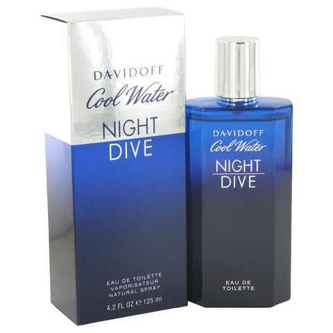 Cool Water Night Dive by Davidoff Eau De Toilette Spray (Limiited Edition) 6.7 oz - Miaimi perfume and cologne @ 123fragrance.net-Brand name fragrances, colognes, perfumes, shopping made easy - 2
