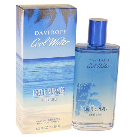 Cool Water Exotic Summer by Davidoff Eau De Toilette Spray (limited edition) 4.2 oz - Miaimi perfume and cologne @ 123fragrance.net-Brand name fragrances, colognes, perfumes, shopping made easy - 2