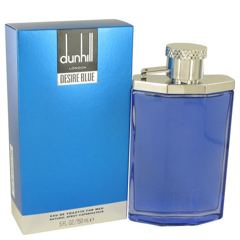 Desire Blue by Alfred Dunhill Eau De Toilette Spray 5 oz - Miaimi perfume and cologne @ 123fragrance.net-Brand name fragrances, colognes, perfumes, shopping made easy