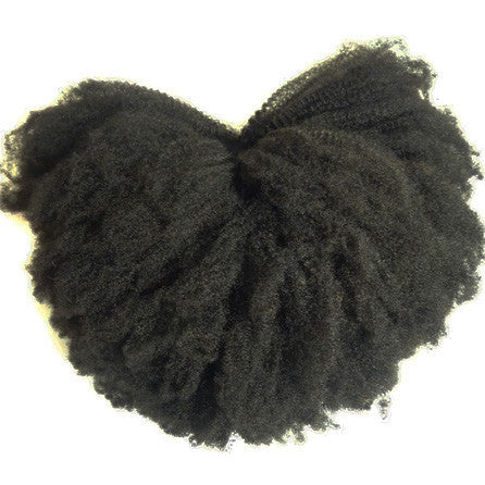 Afro Kinky Curly U Part Wig - 4C Hair Texture