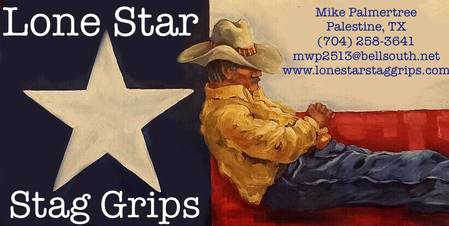 Lone Star Stag Grips