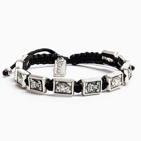 Garment of Grace Scapular Bracelet BLACK