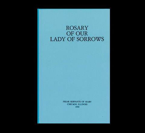 THE ROSARY OF OUR LADY OF SORROWS BOOK