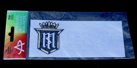 Decal: Servite High School Long Sticker
