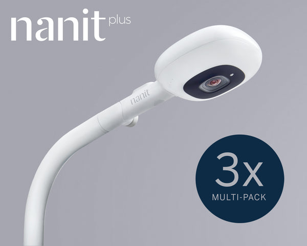 Nanit Plus Camera & Floor Stand Triple Pack
