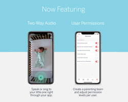 new 2 way audio, user permissions