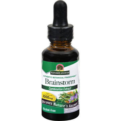 Nature's Answer Brainstorm Alcohol Free - 1 Fl Oz