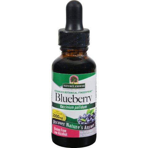 Nature's Answer Blueberry Leaf - 1 Fl Oz