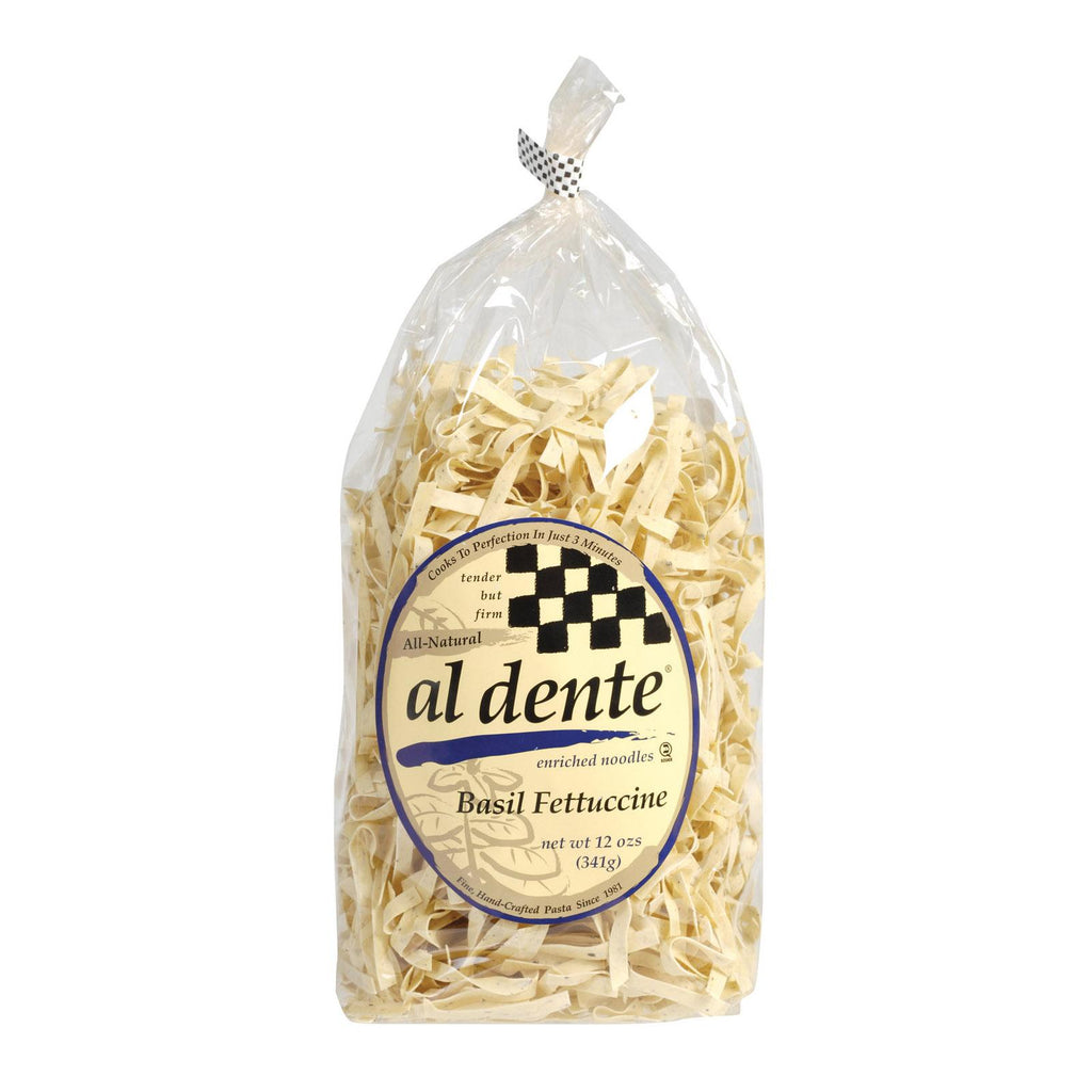 Al Dente Fettucine - Basil - Case Of 6 - 12 Oz.