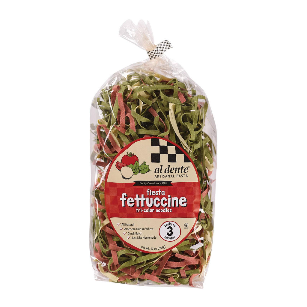Al Dente Fettuccine - Fiesta - Case Of 6 - 12 Oz.