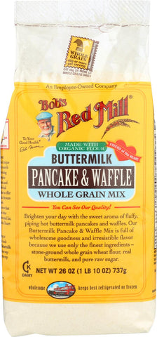 Bob's Red Mill Buttermilk Pancake And Waffle Mix - 26 Oz - Case Of 4