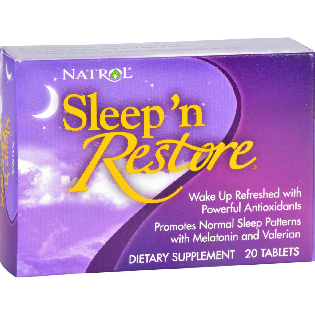 Natrol Sleep 'n Restore - 20 Tablets
