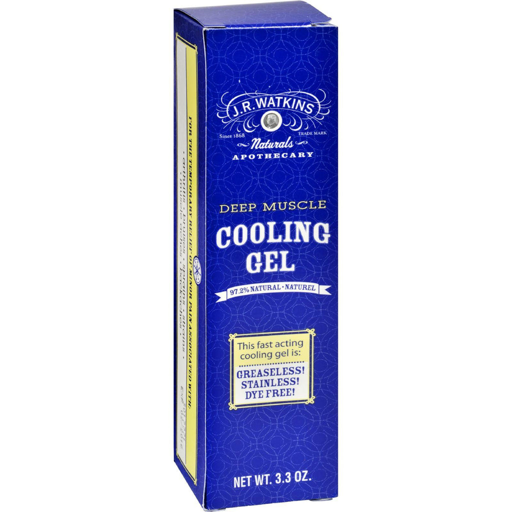 J.r. Watkins Muscle Cooling Gel - 3.3 Oz