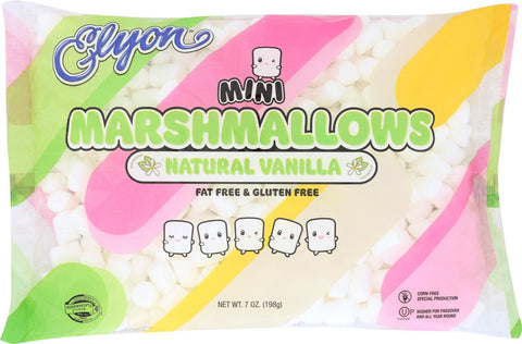 Elyon Natural Marshmallows - Mini - Case Of 12 - 7 Oz.