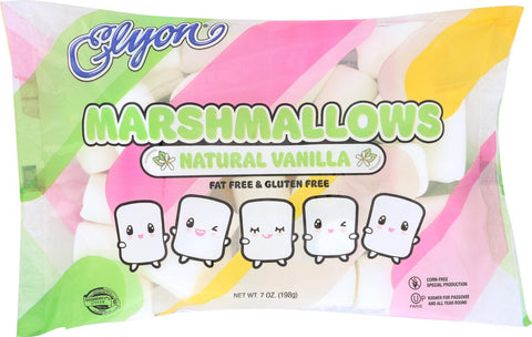Elyon Natural Marshmallows - Regular - Case Of 12 - 7 Oz.