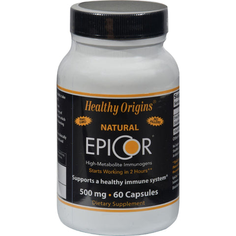 Healthy Origins Epicor - 500 Mg - 60 Caps