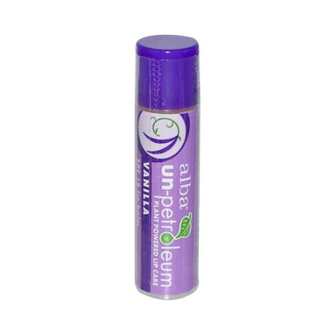 Alba Un-petroleum Lip Balm With Spf-18 Vanilla - 0.15 Oz - Case Of 24
