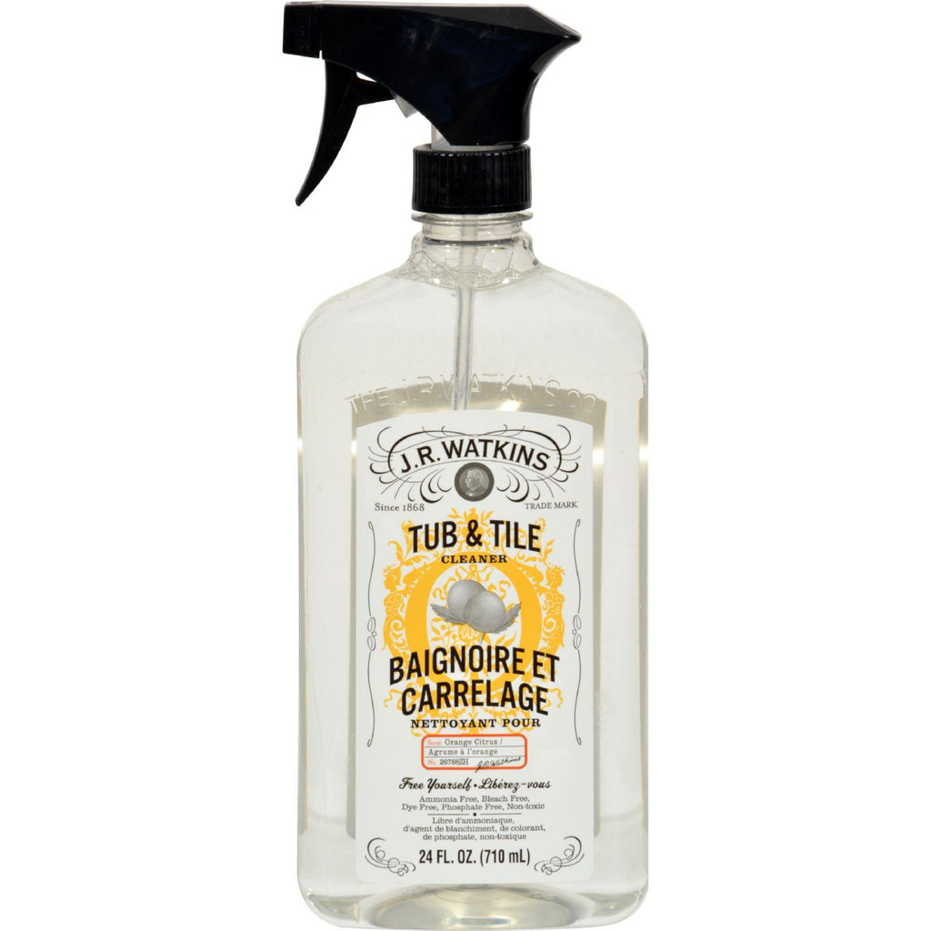 J.r. Watkins Tub And Tile Cleaner Citrus - 24 Fl Oz