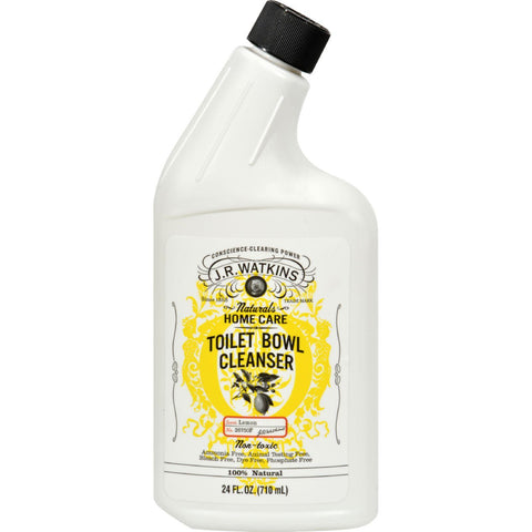 J.r. Watkins Toilet Bowl Cleanser Lemon - 24 Fl Oz