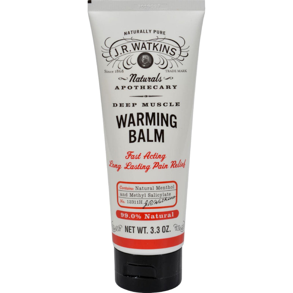 J.r. Watkins Deep Muscle Warming Balm - 3.3 Oz