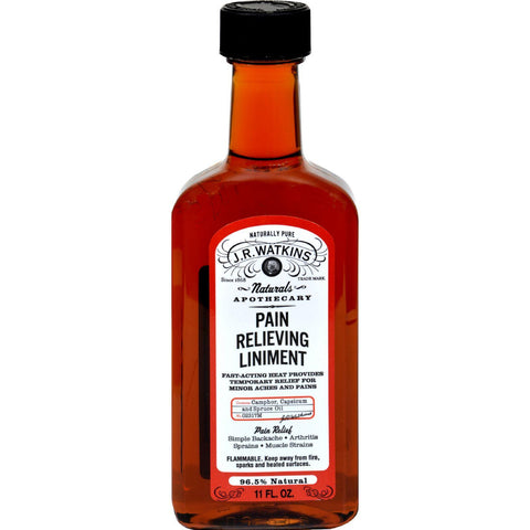 J.r. Watkins Natural Pain Relieving Liniment - 11 Oz