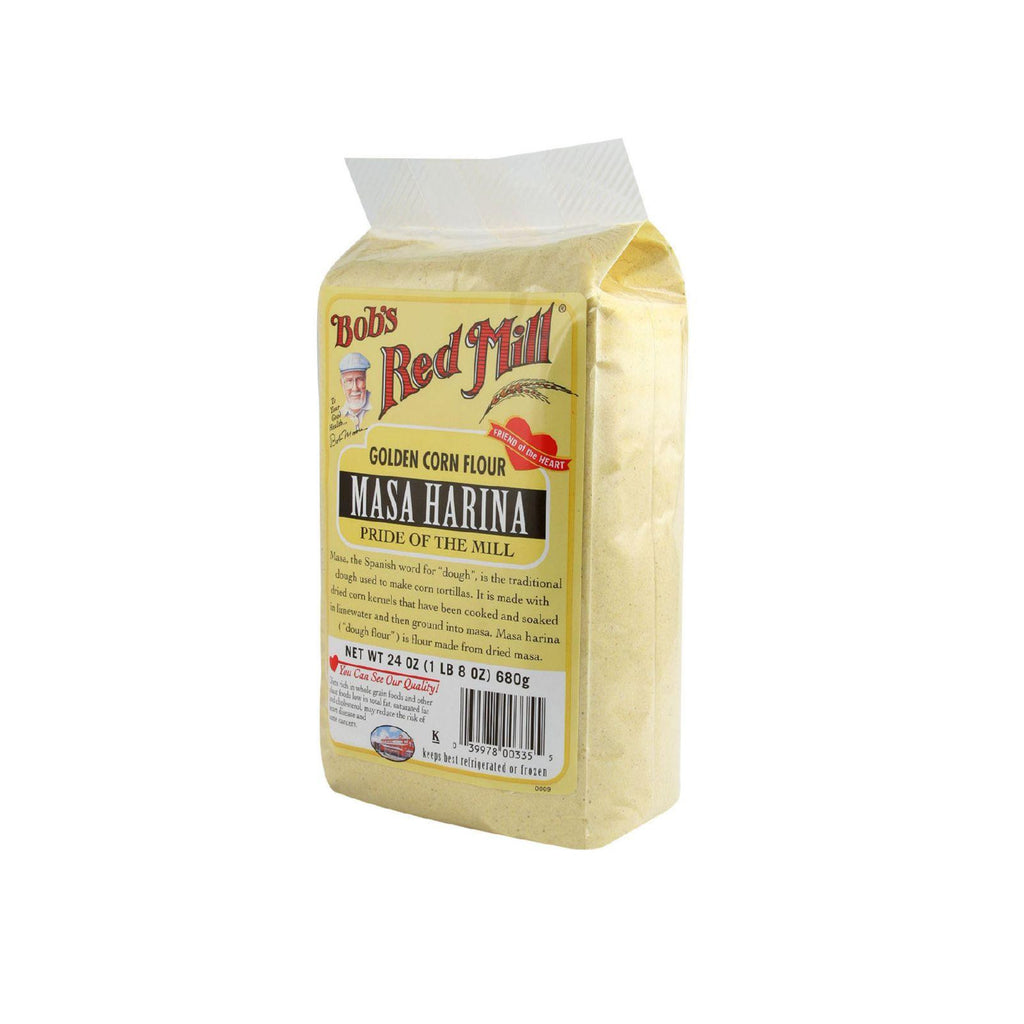 Bob's Red Mill Golden Masa Harina Corn Flour - 24 Oz - Case Of 4