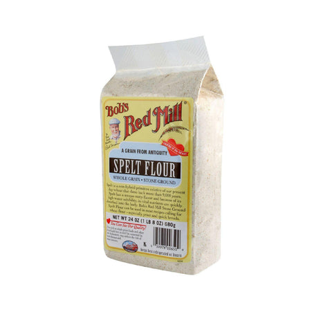 Bob's Red Mill Spelt Flour - 24 Oz - Case Of 4
