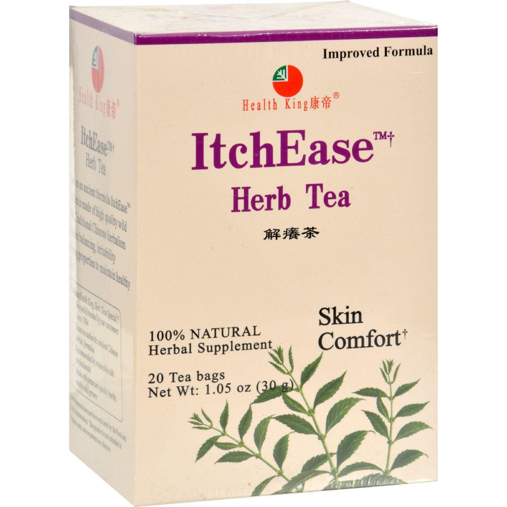Health King Medicinal Teas Tea - Itchease - 20 Bag