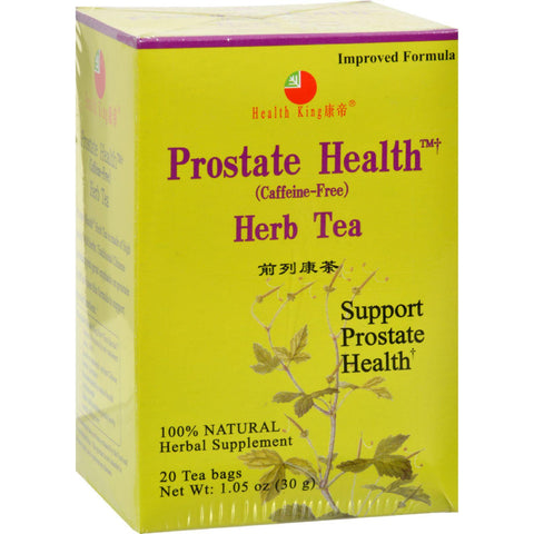 Health King Medicinal Teas Tea - Prostate Health - 20 Bag