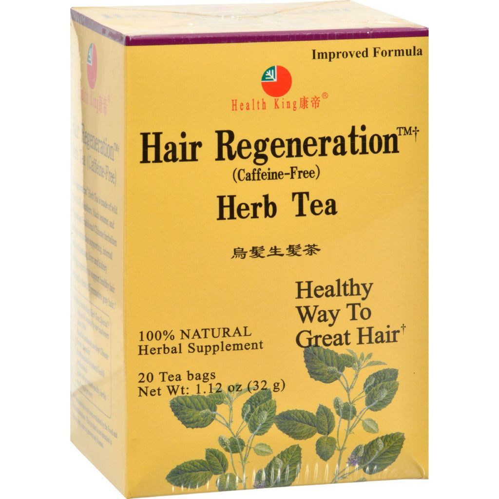 Health King Hair Regeneration Herb Tea - 20 Tea Bags