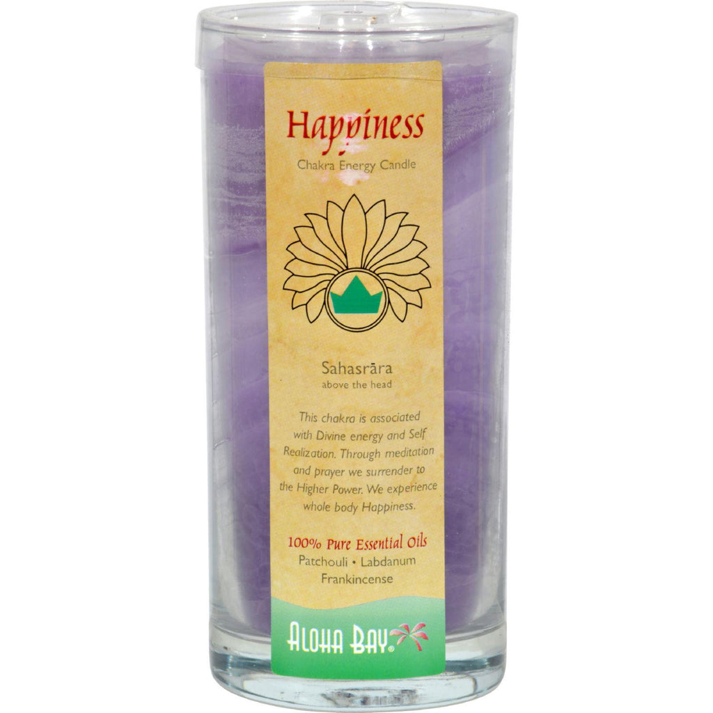 Aloha Bay Chakra Candle Jar Happiness - 11 Oz