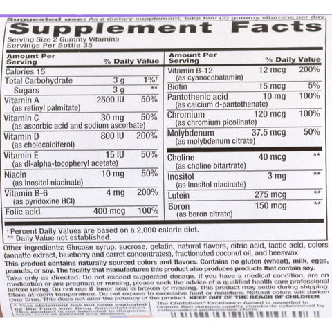 Nutrition Now Multi Vites Gummy Vitamins Fruit - 70 Gummies