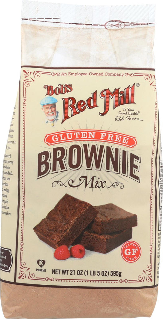 Bob's Red Mill Gluten Free Brownie Mix - 21 Oz - Case Of 4