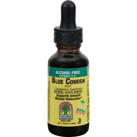 Nature's Answer Blue Cohosh Root Alcohol Free - 1 Fl Oz