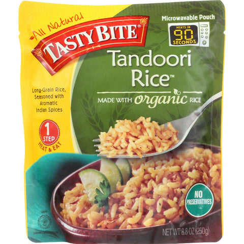 Tasty Bite Rice - Tandoori - 8.8 Oz - Case Of 6