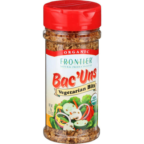 Frontier Herb Bac Uns - Organic - Vegetarian Bits - 2.47 Oz - Case Of 6