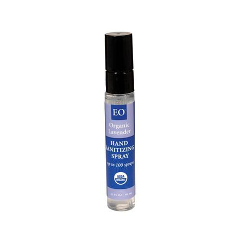 Eo Products Hand Sanitizer - Organic Lavender - 0.33 Fl Oz - Case Of 12