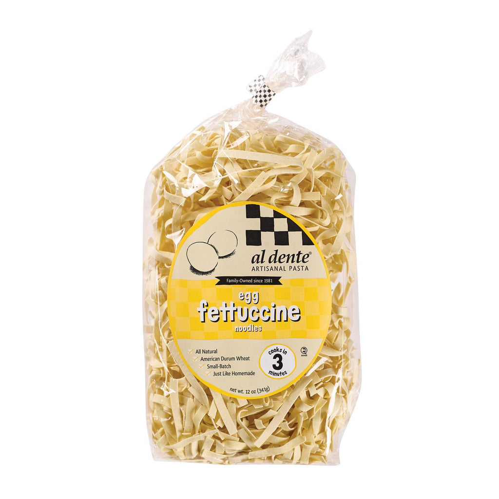 Al Dente Fettucine - Egg - Case Of 6 - 12 Oz.