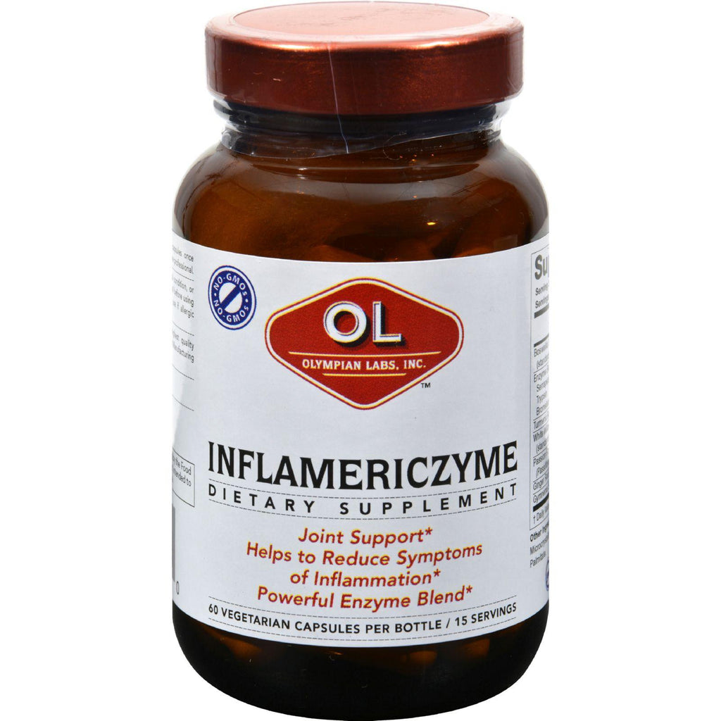 Olympian Labs Inflameric Zyme - 60 Vegetarian Capsules