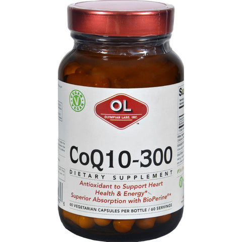 Olympian Labs Co Q10 - 300 Mg - 60 Vegetarian Capsules