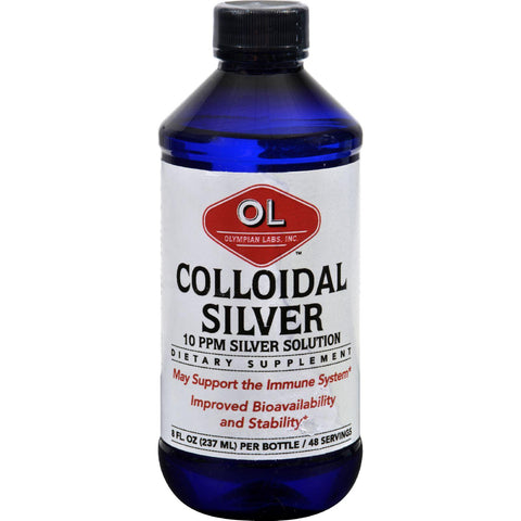 Olympian Labs Colloidal Silver - 10 Ppm - 8 Fl Oz