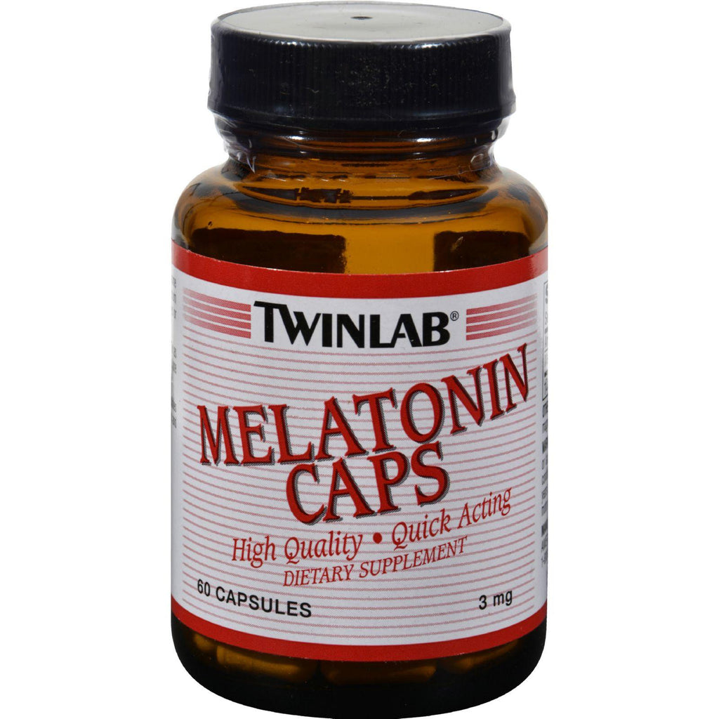 Twinlab Melatonin Caps - 3 Mg - 60 Capsules