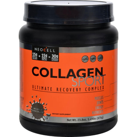 Neocell Laboratories Collagen Sport Ultimate Recovery Complex - Belgian Chocolate - 1.49 Lb.