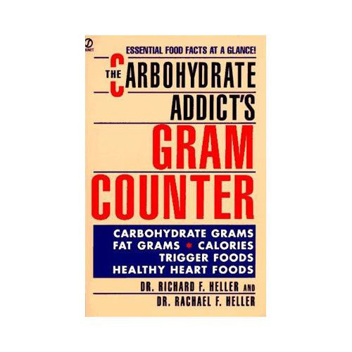 Book Carbohydrate Addicts Gram Counter - 1 Book